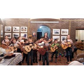 Концерт гитарного класса воскресной школы