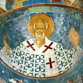 Фреска собора Ферапонтова монастыря (Дионисий, 1502 год