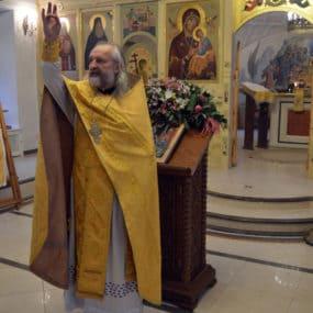 Новогодний молебен в Свято-Никольском храме с.Макарово