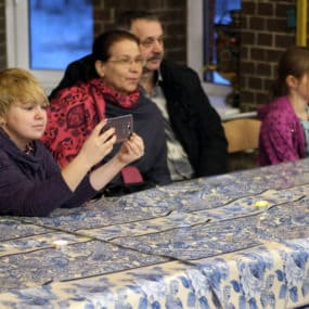 Теплый Рождественский концерт состоялся 13 января 2018 года в приходском доме с.Макарово