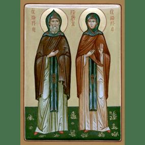 Преподобные Кирилл и Мария Радонежские, родители прп. Сергия Радонежского