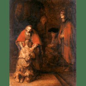 Рембрандт. «Возвращение блудного сына».
