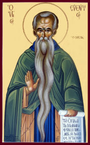 Преподобный Евфимий Великий, иеромонах