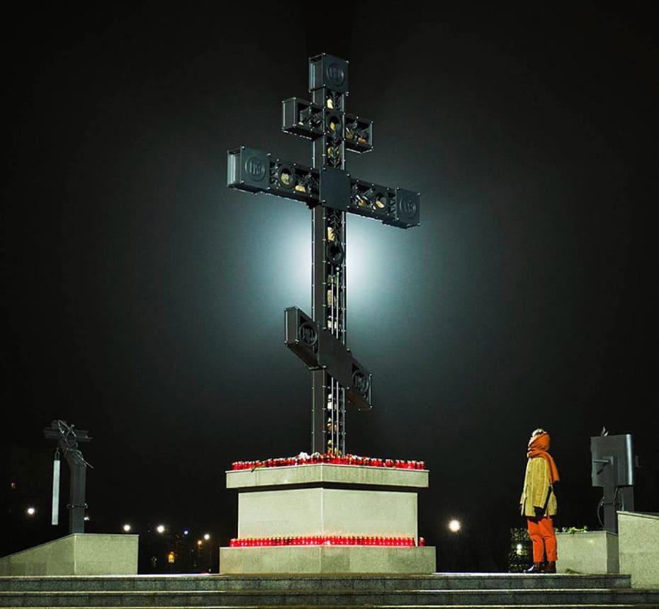 Поклонный Крест в Черноголовке.