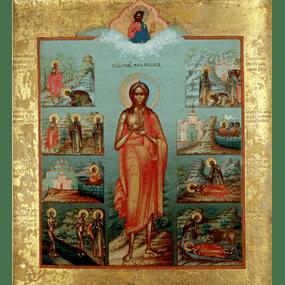 <b>25 марта 2018 года</b> &#8212; Преподобная Мария Египетская