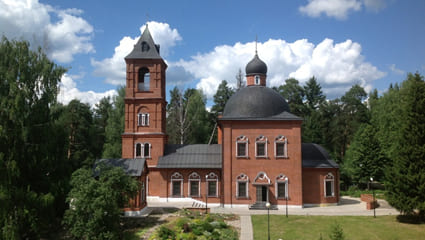 Свято-Никольский храм в с.Макарово