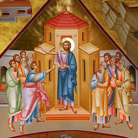 <b>15 апреля 2018 года</b> — Антипасха. Неделя апостола Фомы.