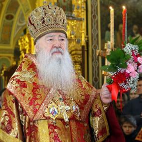 Пасхальное послание митрополита Крутицкого и Коломенского Ювеналия