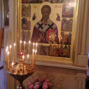 Всенощное бдение. Свято-Никольский храм села Макарово.