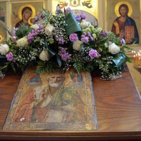 Икона святителя Николая. Свято-Никольский храм села Макарово.