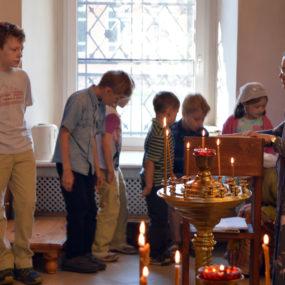 Детский хор. Божественная литургия.