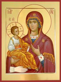 Иконы Божией Матери, именуемой «Троеручица»
