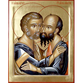 12 июля 2018 года —  Первоверховных апостолов Петра и Павла.