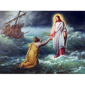 О хождении Спасителя по водам