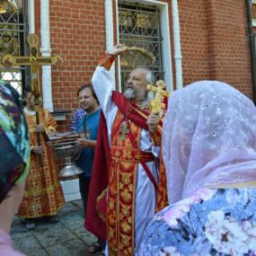 День пророка Илии в Свято-Никольском храме села Макарово.