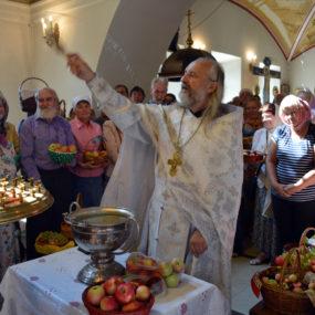 19 августа 2018 года. Свято-Никольский храм в селе Макарово.