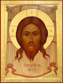 Перенесение из Едессы в Константинополь Нерукотворенного Образа (Убруса) Господа Иисуса Христа