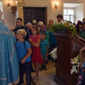 Божественная Литургия. 2 сентября 2018 года. Свято-Никольский храм в селе Макарово.