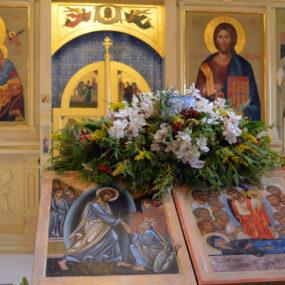 2 сентября 2018 года. Свято-Никольский храм в селе Макарово.