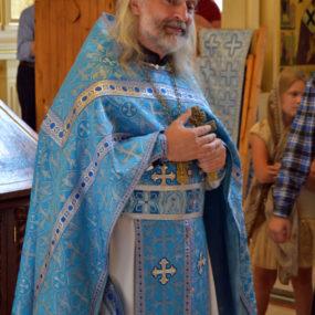 2 сентября 2018 года. Свято-Никольский храм в селе Макарово. Молебен на начало учебного года.