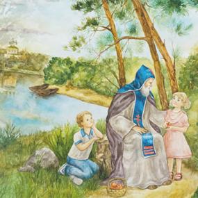 Конкурс детского творчества «Красота Божьего мира».