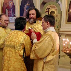 18 - 19 декабря 2018 года. Свято-Никольский храм села Макарово.