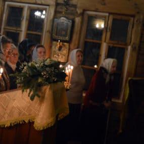 31 декабря 2018 года в Новогодний молебен в храме вмч. Пантелеимона г.Черноголовка, после завершения которого протоиерей Андрей Федоров сказал проповедь.