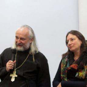 Встреча с прот. Вячеславом Перевезенцевым и Дарьей Архиповой.