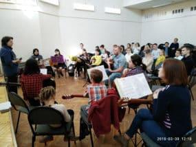 Благотворительный концерт в Черноголовке