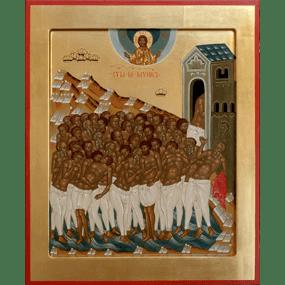 <b>22 марта 2019 года</b> — Святые 40 мучеников, в Севастийском озере мучившиеся