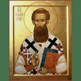 Святитель Григорий Палама, архиепископ Солунский (Фессалоникийский).