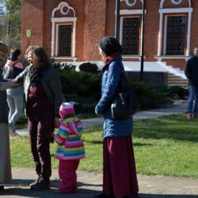 Семейный пасхальный фестиваль. Свято-Никольский храм с.Макарово.