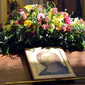 Икона Спасителя в Никольском храме с. Макарово