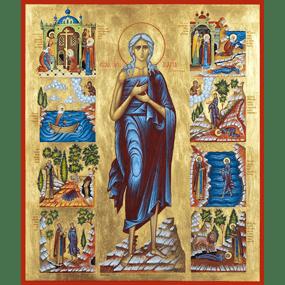 Преподобная Мария Египетская.