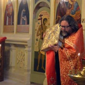 22 мая 2019 года. Свято-Никольский храм с.Макарово.