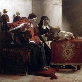 Жан-Поль Лоран, «Папа и инквизитор», 1882