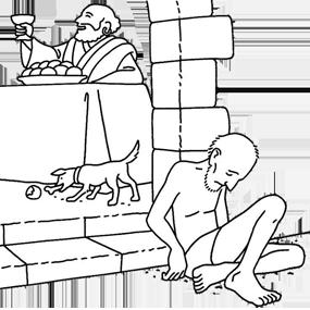 О богаче и Лазаре