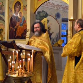 Престольный праздник в Свято-Никольском храме с.Макарово.