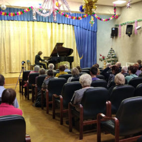 «Вечер классической музыки» в исполнении прихожан Никольского храма с.Макарово.