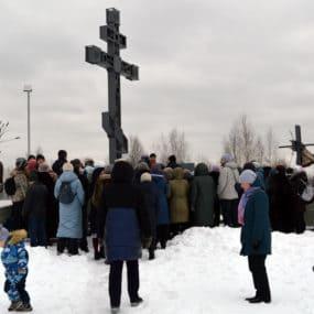 Священник Иоанн Анисимов совершил молебен