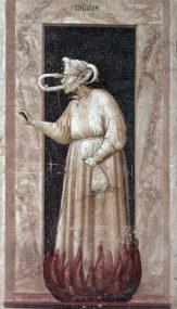 Арена (капелла Скровеньи) - «Аллегории Добродетелей и Пороков». Около 1304 -1305 г.г.