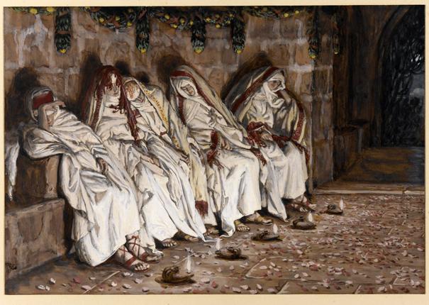 Притча о Страшном Суде - 10 девах