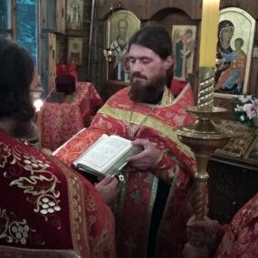 Престольный праздник в храме Великомученика Пантелеимона (г.Черноголовка).