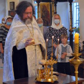 Преображение Господне в Свято-Никольском храме села Макарово 18 - 19 августа 2020 года.
