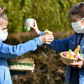«Пасха в период пандемии».