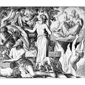 8 ноября 2020 года — Притча о богаче и Лазаре.