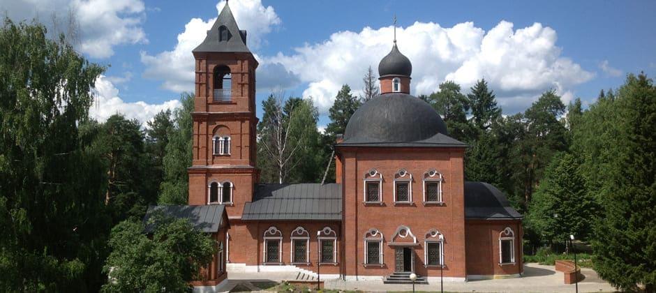 Cвято-Никольский храм в с.Макарово