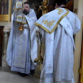 Отпевание почившего настоятеля храма протоиерея Вячеслава Перевезенцева