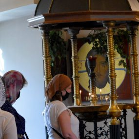 20 июня 2021 года. Свято-Никольский храм в селе Макарово. День Святой Троицы. Пятидесятница.