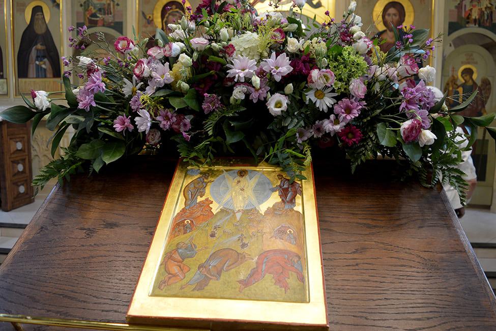 19 августа 2021 года. Преображение Господне. Свято-Никольский храм в селе Макарово.